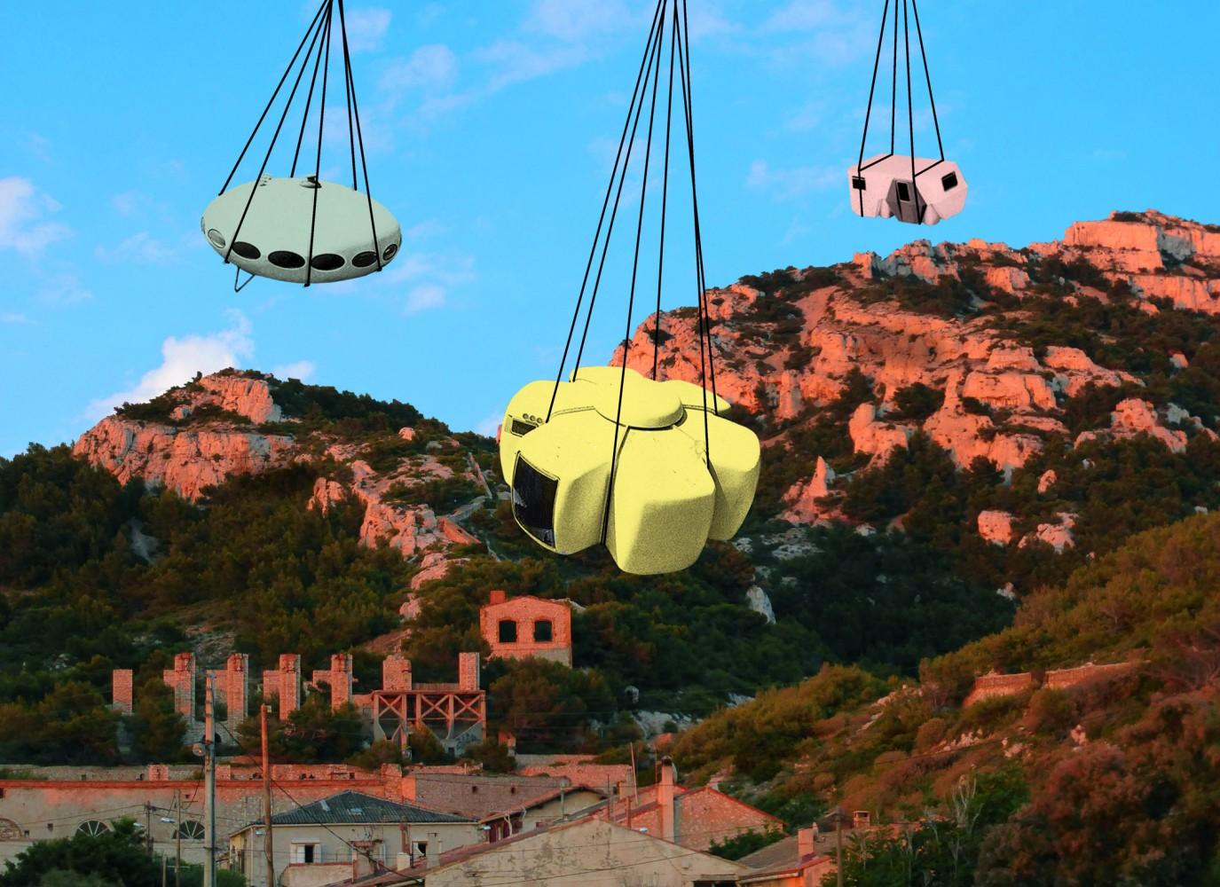 friche escalette marseille évènement Utopie Plastic