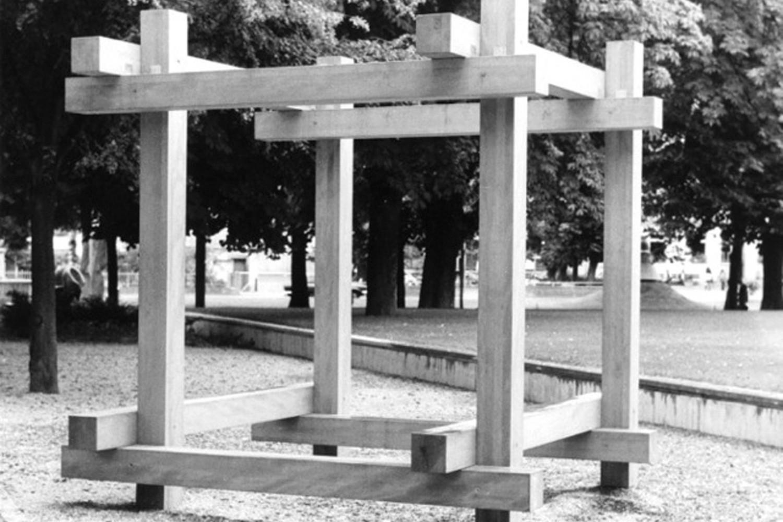 friche escalette marseille évènement Max Bill<br />Pavillon Sculptur II