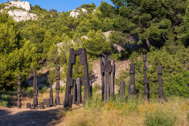 friche escalette marseille évènement François Stahly – L'été de la forêt